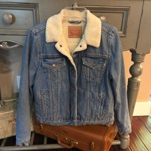 Women's Sherpa Levi Trucker Jacket